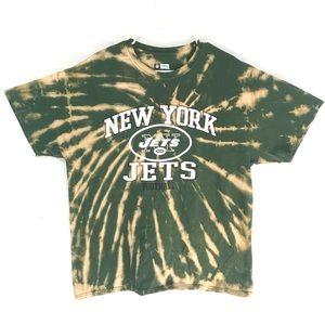 New York Jets Custom tiedye T-shirt